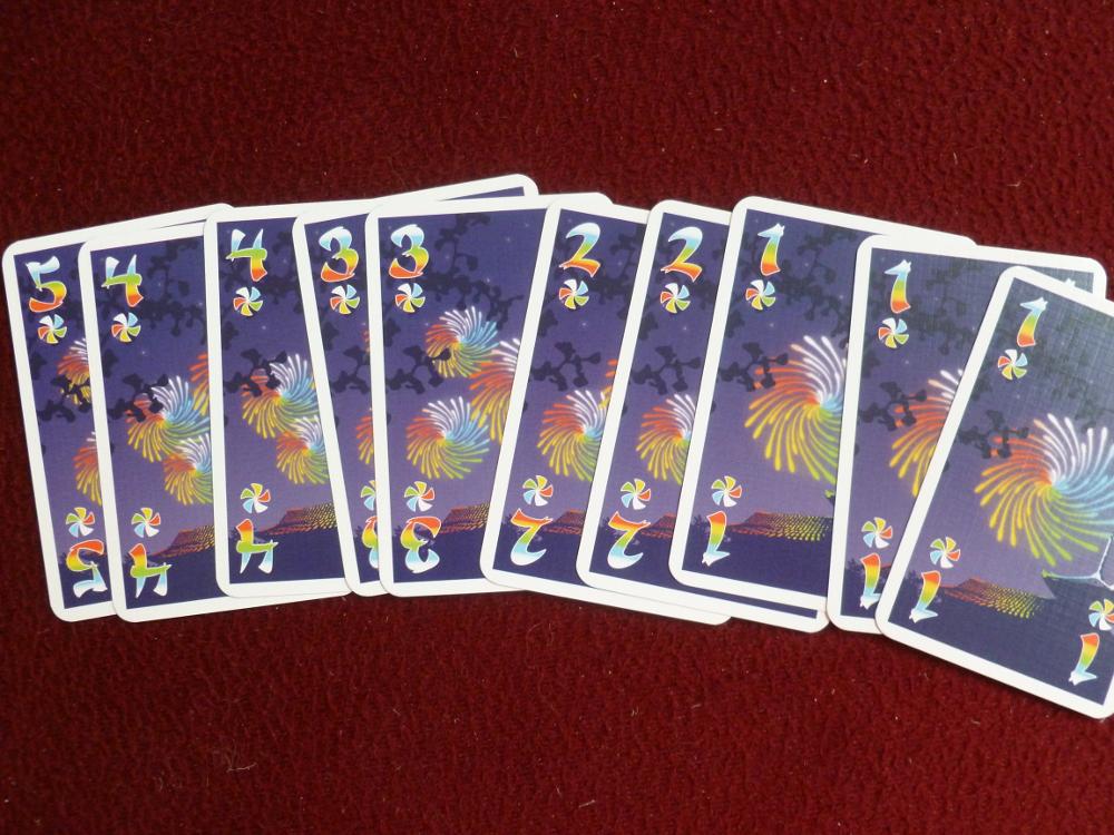 The rainbow cards