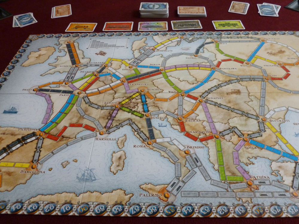 Ticket To Ride Europe The Gamer Couple