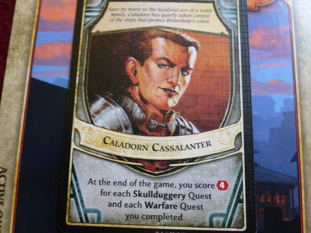 An actual lord of waterdeep