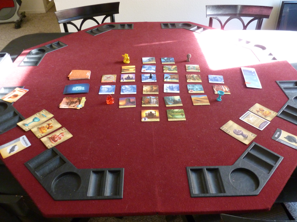Setup for a 2 player game.
