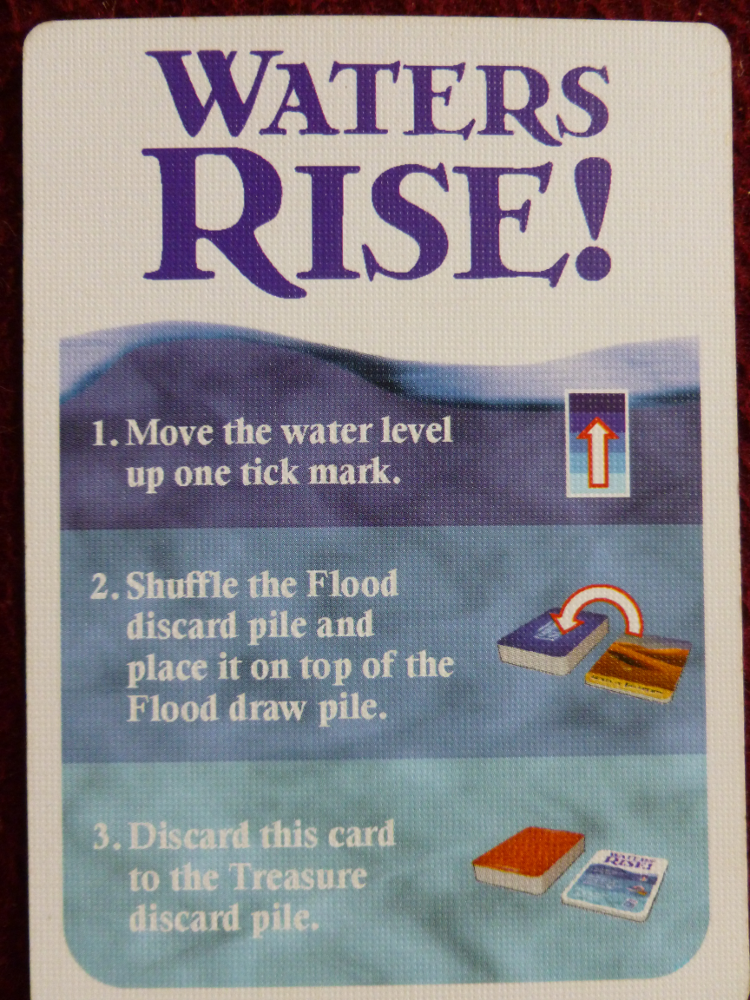 waters Rise card