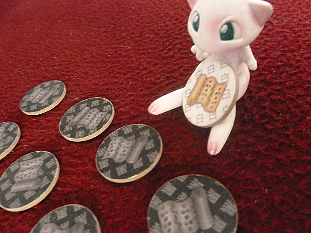 A Mew Pokemon Figurine